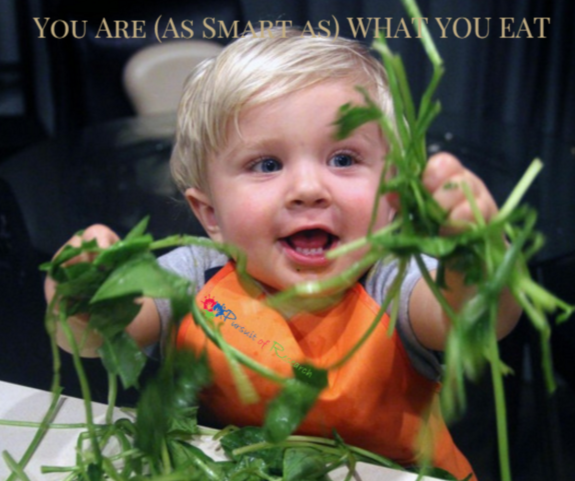 You Are (As Smart As) What You Eat