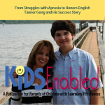 From Struggles with Apraxia to Honors English Tanner Geng and His Success Story