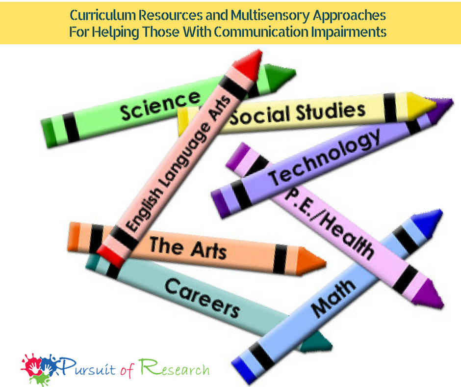 Curriculum Resources and Multisensory ApproachesFor Helping Those With Communication Impairments