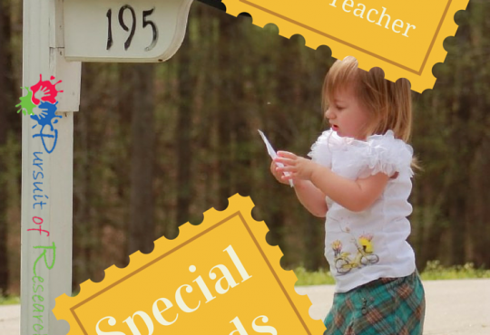 Sample LettersTo Your Child's Teacher