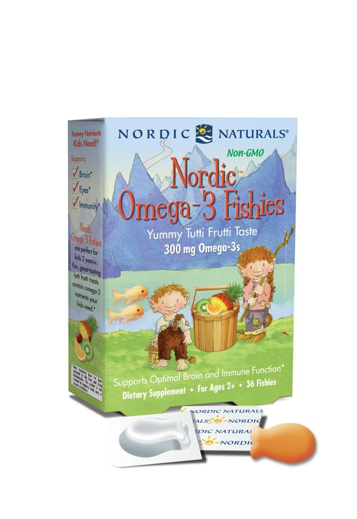 Nordic Omega-3 Fishies(TM) 36 Count Tutti Frutti Flavor