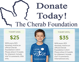 Cherab Foundation t-shirt fundraiser