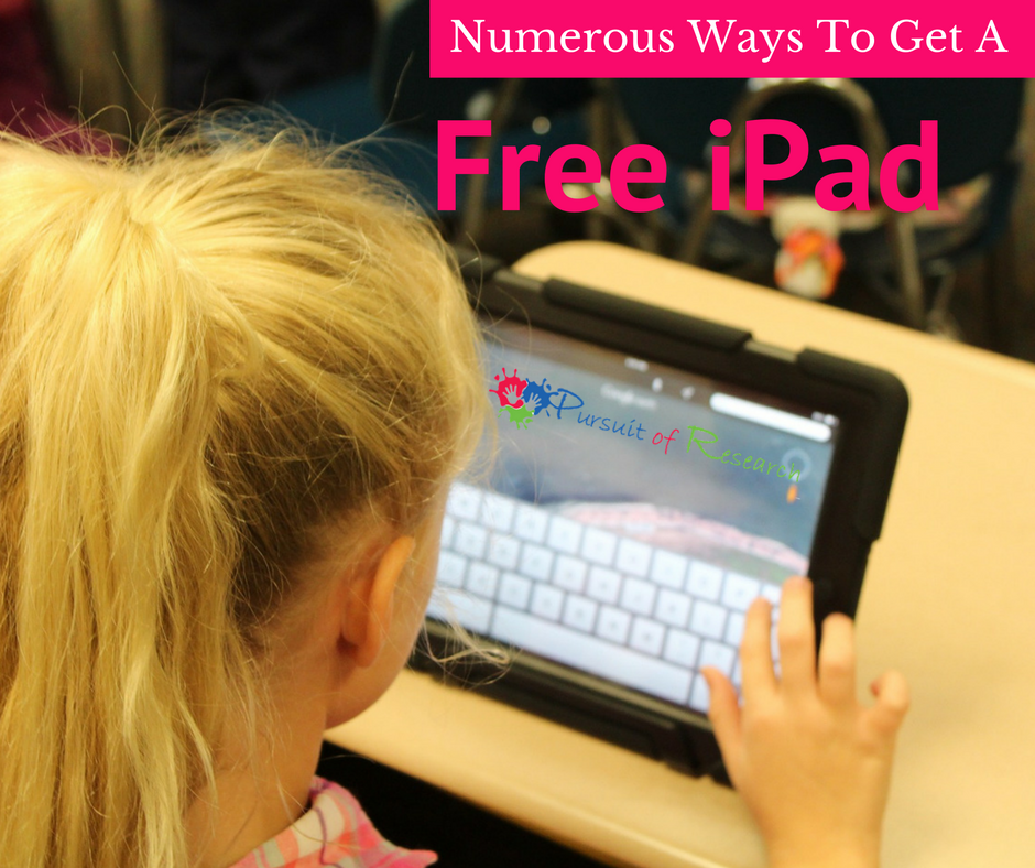 Numerous Ways To Get a Free iPad