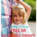 5 Ways To Get Free Or Affordable Speech Therapy