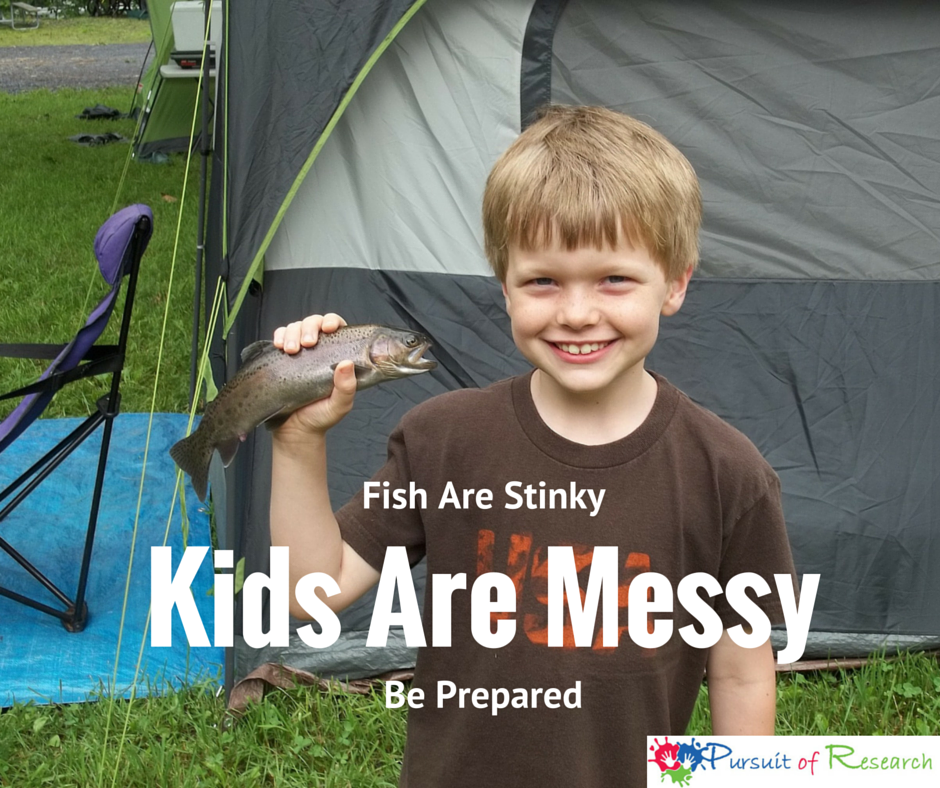 Kids Can Be Messy