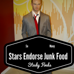 Study Finds Entertainers Mainly Endorse Junk Food