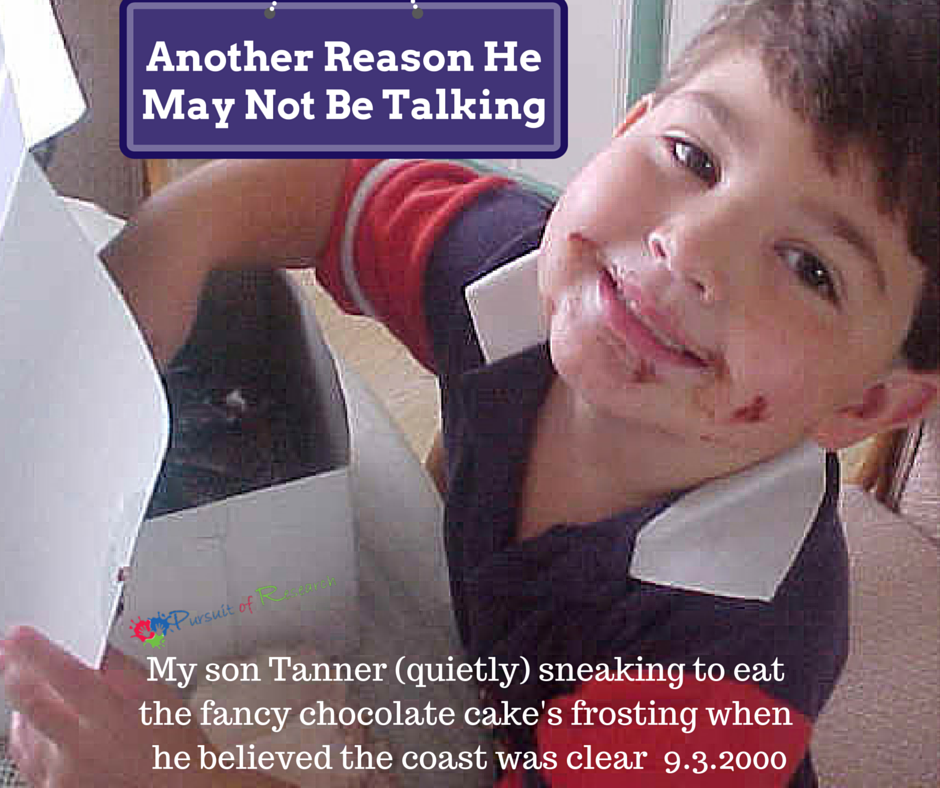 """Another ReasonHe May Not Be Talking -How to answer """"What's Wrong With Him?"""""""