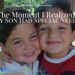 The Moment I Realized My Son Had Special Needs