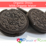 Organic Oreos With Organic Water