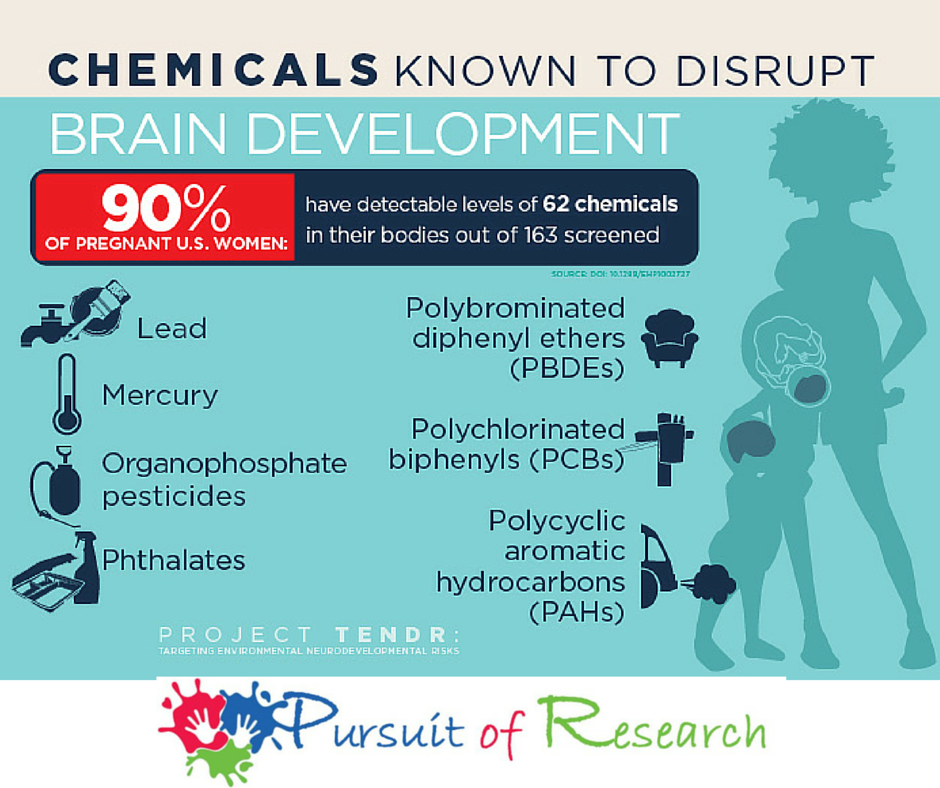 Report: A host of common chemicals endanger child brain development