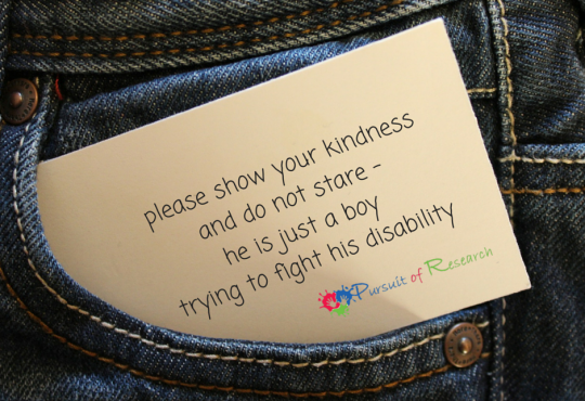 please show your kindness and do not stare - he is just a boy trying to fight his illness (2)