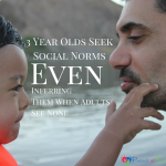 Study Finds 3 Year Olds Seek Social Norms Even Inferring Them Where Adults See None