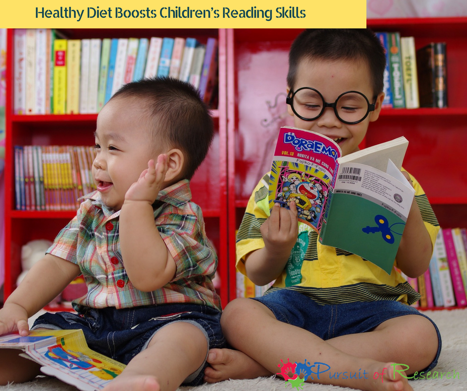 Healthy Diet Boosts Children's Reading Skills