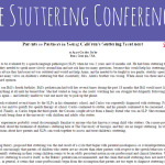Parents as Partners in Young Children's Stuttering Treatment