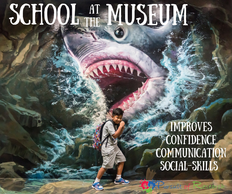 School at the museum improves confidence, communication, social skills