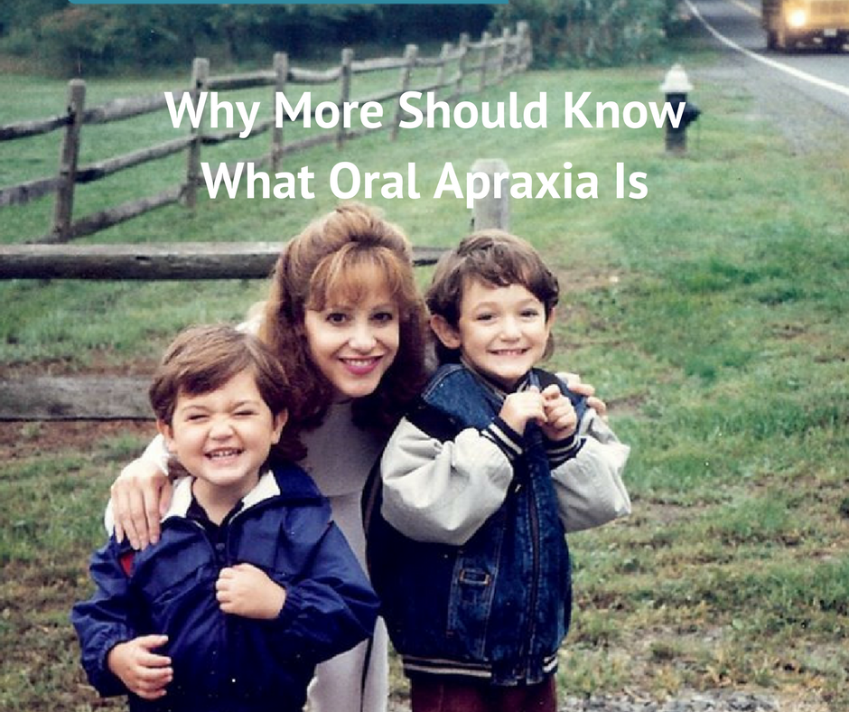 Why More Should Know What Oral Apraxia Is