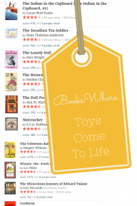 List Of Books where toys come to life