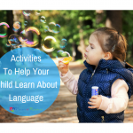 activities to help your child learn about language