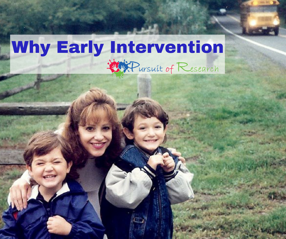 Why Early Intervention