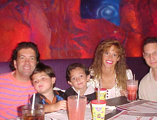 Trip to NYC from far right, Stacey's husband, Lisa Geng, Tanner Geng, Dakota Geng and Glenn Geng