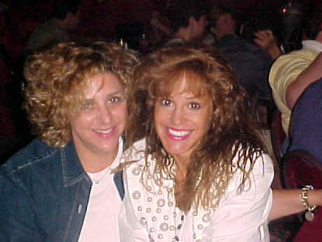 Stacey Abenstein (L) and Lisa Geng (R) 2001