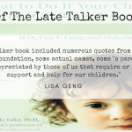 Be Part Of The Late Talker Book Sequel