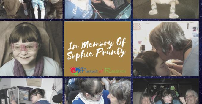 In Memory Of Sophie Prunty