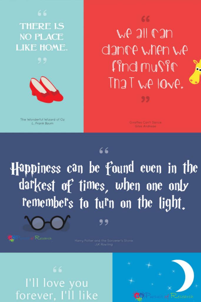 20 Inspiring Children S Book Quotes