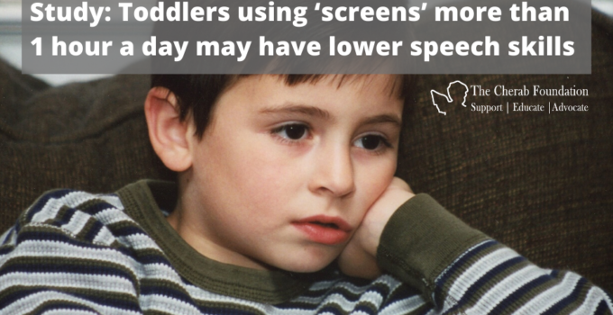 Study: Toddlers using 'screens' more than 1 hour a day may have lower speech skills