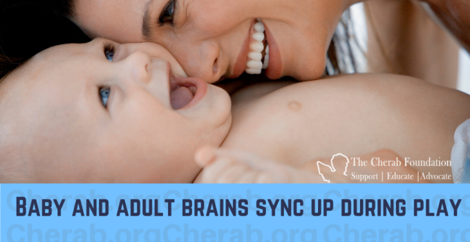 Study: Baby and adult brains sync up during play